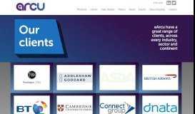 Clients - eArcu - eRecruitment Evolved