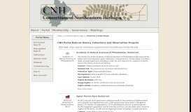 CNH portal Chrysler Herbarium of Rutgers University Collection Profiles