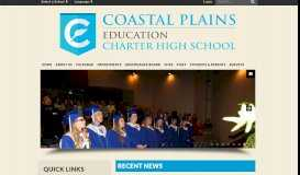 Coastal Plains Charter High School: Home