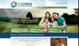 CobbWest Internal Medicine Associates | Dallas, GA & Powder ...