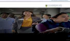 College of Nursing & Health Professions   Chamberlain