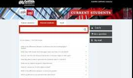 Commonwealth supported - Find answers - Griffith University