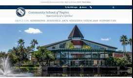 Communications - Community School of Naples