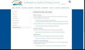 Community Access - St. Benedict's Catholic Primary School