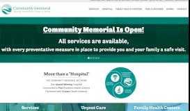 Community Memorial Hospital - Hamilton, NY