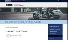 Community Outreach Unit   Division of Public Safety - UCONN Public ...