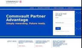Commvault Partner Portal