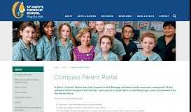 Compass Parent Portal   St Mary's School, Bowen