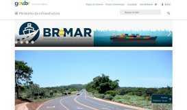 Condições das Vias - Ministério da Infraestrutura