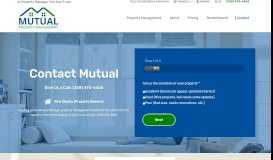 Contact - Mutual Property Management