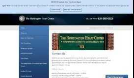 Contact The Huntington Heart Center