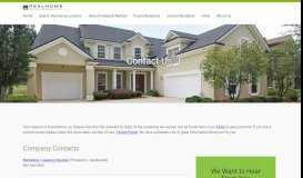 Contact Us - RHSS Rentals - RHSS Rental Homes