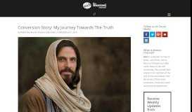 Conversion Story: My Journey Towards The Truth - Moroni Channel