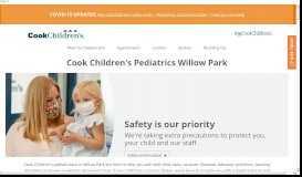 Cook Children's Pediatrics - Willow Park