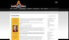 County Clerk | Roosevelt County