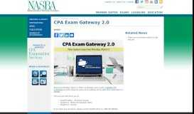 CPA Exam Gateway 2.0 | NASBA