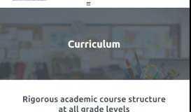 Curriculum   NHCA - New Hope Christian Academy