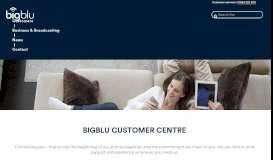 Customer Portal - bigblu