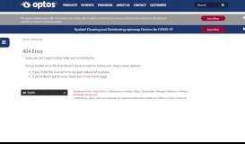 Customer Portal Login - Optos.com