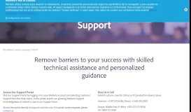 Customer Support Options - Marketo