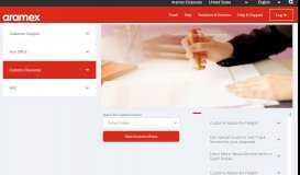 Customs Clearance - Aramex