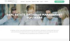 Database Management Software for Real Estate ... - Agentbox