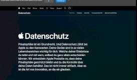 Datenschutz - Apple (DE)