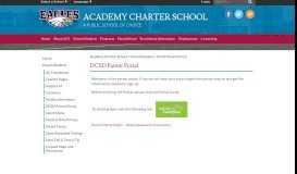 DCSD Parent Portal - Academy Charter School