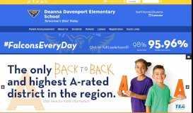 Deanna Davenport Elementary School: Home