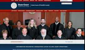 DeKalb County Georgia State Court