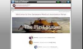 Delaware Medical Assistance Portal > Home