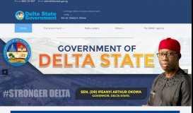 Delta State Government: Home