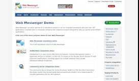Demo - ASP.NET Web Messenger - CuteSoft