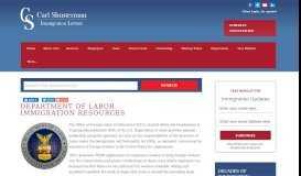 Department of Labor, DOL, PERM, Labor Certification, LCA, BALCA