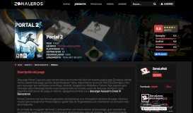 Descargar Portal 2 [PC] [Español] [Mega] [Torrent] | ZonaLeRoS