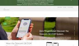 Dexcom Continuous Glucose Monitoring | Dexcom CGM