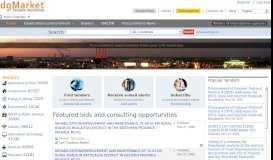 dgMarket - Tenders Worldwide International tenders
