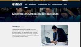 Dirección de Empresas – UNIVO