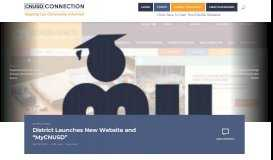"""District Launches New Website and """"MyCNUSD"""" – The ..."""