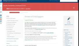 Division of Child Support | DSHS