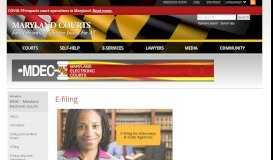 E-filing | Maryland Courts