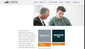 Education Agents Zone | Cambridge Education Group