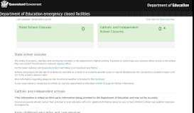 Emergency Closures Home Page