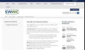 Employee Portal / Employee Portal Home - SWWC Service Cooperative