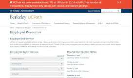 Employee Resources | UCPath