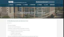 Employee Self Service | UHS