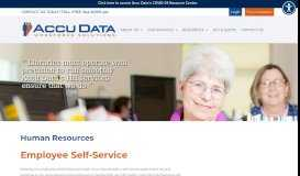 EMPLOYEE SELF SERVICE   Work Force Solutions