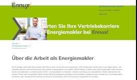 Energiemakler werden: Geld mit Strom & Gas verdienen - Ennux