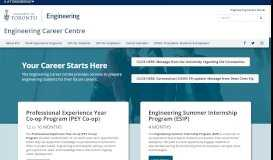 Engineering Career Centre: Home