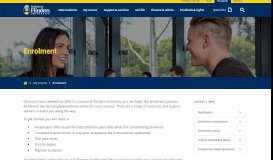 Enrolment - Flinders University Students
